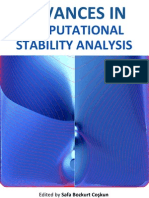 Advances Computational Stability Analysis i to 12