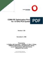 CDMA 1.9 GHz Optimization Procedures
