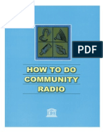 How to Do Community Radio