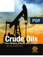 Crude Oils Their Sampling Analysis and Evaluation Mnl68-Eb.618867-1