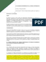 Resolución 63-12 Control Ejercicio Profesional -CPCECABA
