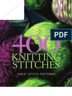 400 Knitting Stitches Great Stitch Patterns[Team Nanban][TPB]