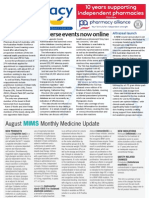 Pharmacy Daily for Thu 02 Aug 2012 - Adverse events, Altrazeal, Pharmacy Board, lipids and more