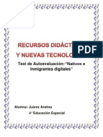 Nuevas alfabetizaciones (autoevaluación, ejercicios prácticos ítem 1,2)
