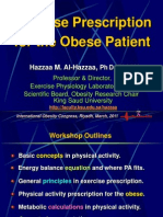 Exercise Prescription for Obese Patients- Inter Obesity Congress 2011