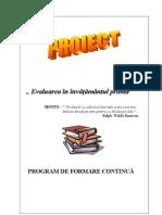 Proiect Evaluare f