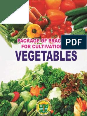 Package PAU (Veg) | Sowing | Vegetables