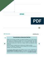 procesos  del Zinc