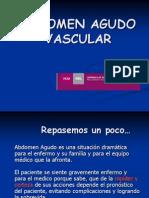 Abdomen Agudo Vascular y Hemorragico UNL- Dr Guala