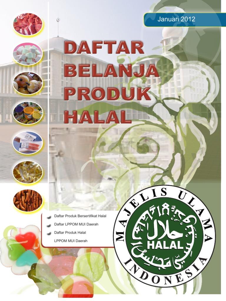 Panduan Halal 2012 Butter Cream