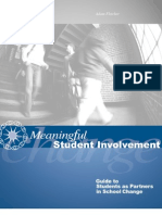 Guide Meaningful Student Involvement