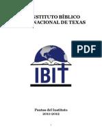 School Catalog 2011-12 Spanish