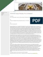 Internationale Tagung _Philosophy