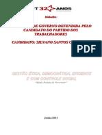PROPOSTA DE GOVERNO DO CANDIDATO BANGA 13