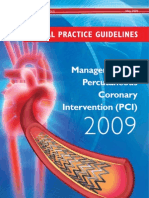 CPG Management of Percutaneous Coronory Intervention (PCI) 2009