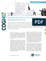 The Business Case for Test Environment Management Services