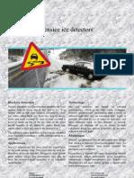 Sensice Ice Detectors
