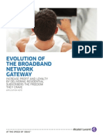 Evolution of Broadband Network en AppNote