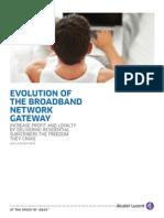 Evolution of Broadband Network en AppNote