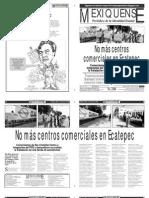Versión impresa del periódico El mexiquense 2 agosto 2012