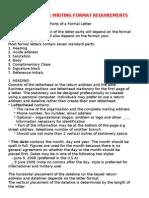 GIM2011Business Letter Writing Format