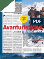 Avanturistično osvajanje deviških gora - Revija Jana