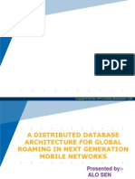 Distributed Database Architecture for Global Roaming in Next Genaration Mobile Network