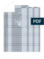 Worksheet in Processore Di Pian