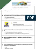 Test Director de autoescuela - Normativa