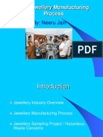 Jewellery Manufacturing Proces