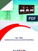 Alstom CDAG Relay Manual