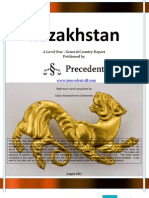 Level 1 Report on Kazakhstan August 2012