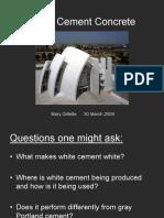 White Cement Pp