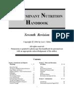 Non Ruminant Nutrition, Laing Danet
