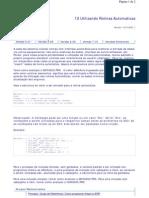 Como Programar Advpl No ERP - 12 - Utilizando Rotinas Automaticas