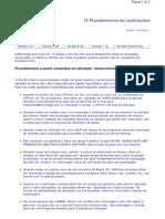 Como programar Advpl no ERP - 15 - Procedimentos de Localizacöes