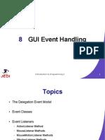 MELJUN CORTES JEDI Slides Intro2 Chapter08 GUI Event Handling