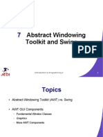 MELJUN CORTES JEDI Slides-Intro2-Chapter07-Abstract Windowing Toolkit and Swing