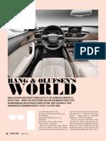 Bang & Olufsen's World
