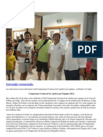 Cto. Comarcal Ajedrez Marina Alta 2012