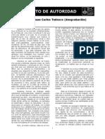 Juan Carlos Tedesco - El Concepto de Autoridad