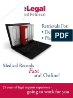 Medical Records Retrieval | Choice legal | 855 875-8550