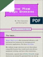 3 Phase Delta-friendly Magic Sinewaves