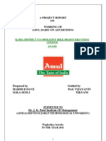 1AMUL DAIRY ON ADVERTISING    KAIRA DISTRICT CO-OPERATIVE MILK PRODUCERS'UNION LIMITED ANAND