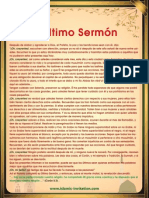 El Último Sermón