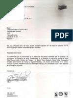 Respuesta de Presidencia DF TT