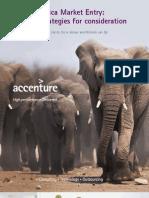 Accenture Africa Market Entry