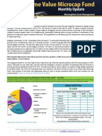 Microequities High Income Value Microcap Fund March 2012 update