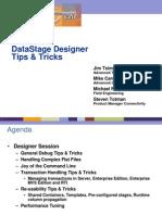 DataStage Tricks & Tips