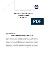 15 DSP Pendidikan Islam Tahun 3 (draf Mei 2012)